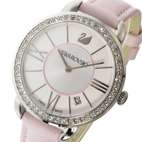 スワロフスキー SWAROVSKI アイラ・デイ クオーツ レディース 腕時計 5182189 ホワイト/シルバー