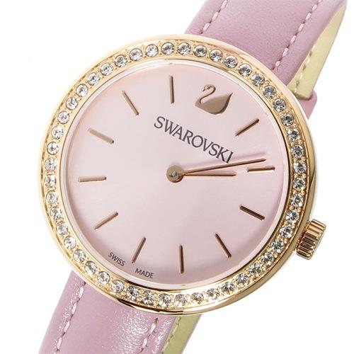 スワロフスキー SWAROVSKI クオーツ レディース 腕時計 5213667 アンティークピンク