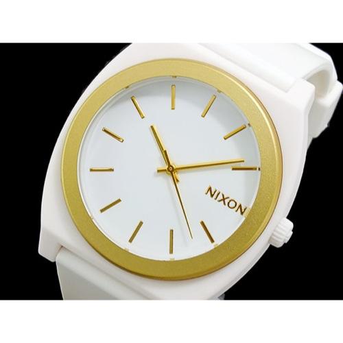 ニクソン タイムテラーP 腕時計 A119-1297 WHITE/GOLD ANO