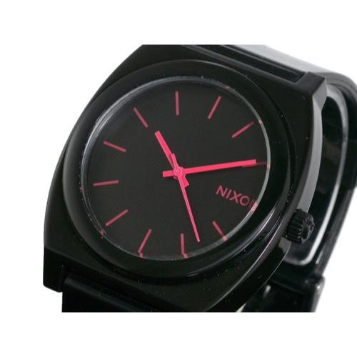 ニクソン タイムテラー 腕時計 A119-480 BLACK/BRIGHT PINK