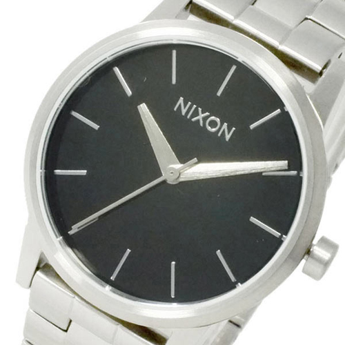 ニクソン スモール ケンジントン クオーツ レディース 腕時計 A361-000 ブラック