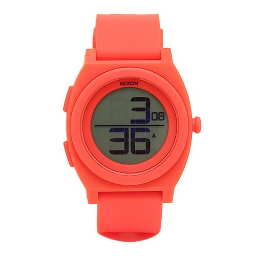 ニクソン NIXON タイムテラーデジ デジタル レディース 腕時計 A4172054 ピンク