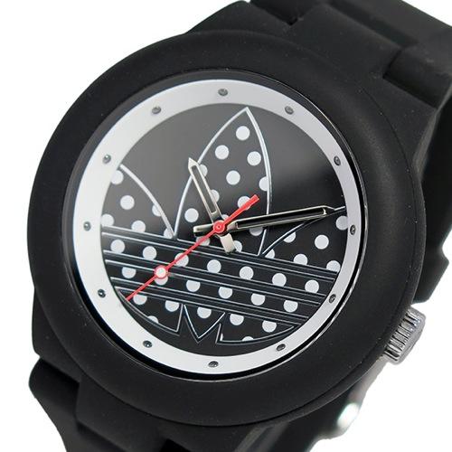 アディダス ADIDAS アバディーン クオーツ レディース 腕時計 ADH3050 ブラック