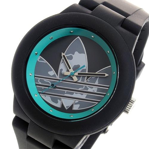 アディダス ADIDAS アバディーン クオーツ ユニセックス 腕時計 ADH3106 ブラック