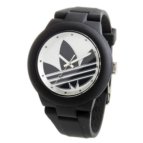 アディダス ADIDAS アバディーン クオーツ ユニセックス 腕時計 ADH3119 ブラック