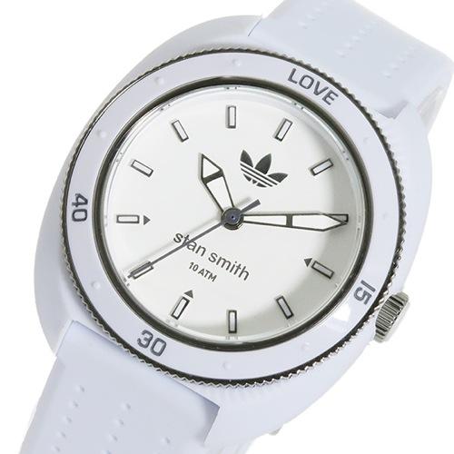 アディダス スタンスミス クオーツ レディース 腕時計 ADH3121 ホワイト/ホワイト