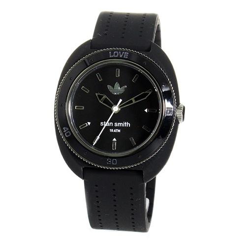 アディダス スタンスミス クオーツ レディース 腕時計 ADH3125 ブラック/ブラック