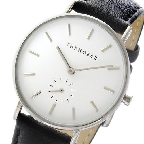 ザ ホース クラシック クオーツ ユニセックス 腕時計 AS01-B2 ホワイト/ブラック></a><p class=blog_products_name