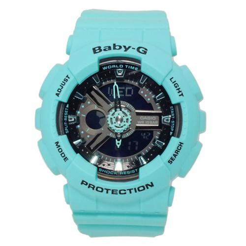 カシオ CASIO ベビーG BABY-G デジタル レディース 腕時計 BA-111-3AER グリーン
