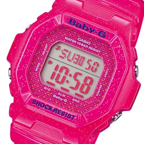 カシオ CASIO ベビーG コズミックフェイス レディース 腕時計 BG-5600GL-4 ピンク
