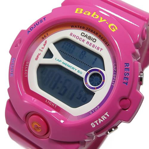 カシオ CASIO ベビージー Baby-G クオーツ レディース 腕時計 BG-6903-4B ピンク