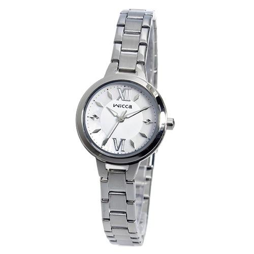 シチズン CITIZEN ウィッカ WICCA クオーツ レディース 腕時計 BG3-716-11 シェル