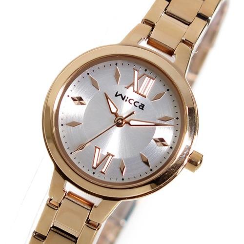 シチズン ウィッカ クオーツ レディース 腕時計 BG3-724-11 シルバー