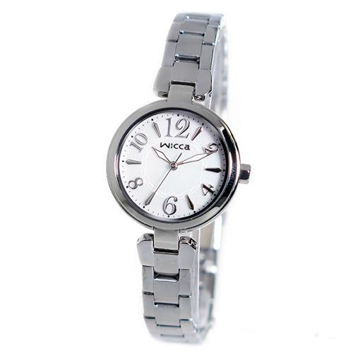 シチズン CITIZEN ウィッカ WICCA クオーツ レディース 腕時計 BG3-813-11 シェル