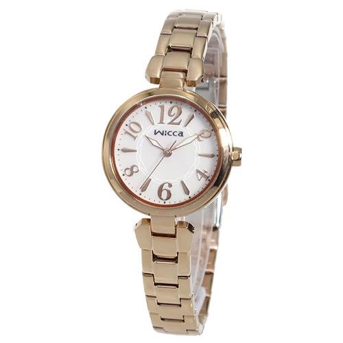 シチズン CITIZEN ウィッカ WICCA クオーツ レディース 腕時計 BG3-821-11 シェル