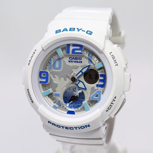 カシオ ベビーG ビーチ・トラベラー レディース 腕時計 BGA-190-7B ホワイト