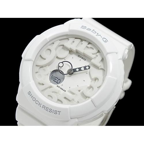 カシオ CASIO ベイビーG BABY-G ネオンダイアル 腕時計 BGA-131-7B ホワイト