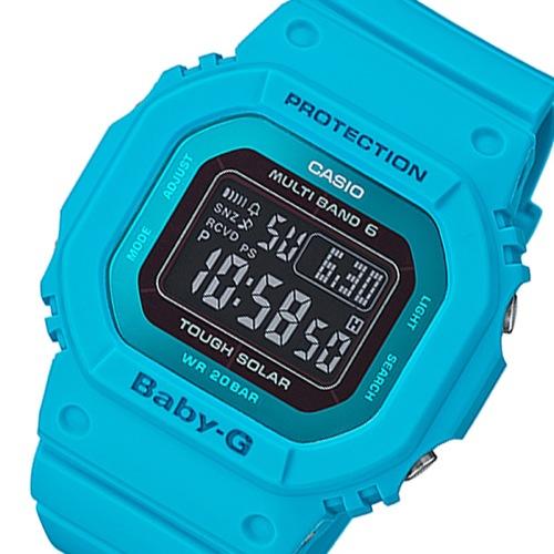 カシオ ベビーG タフソーラー レディース 腕時計 BGD-5000MD-2JF ブルー 国内正規