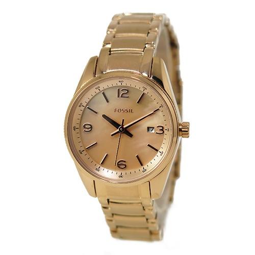 フォッシル FOSSIL クオーツ レディース 腕時計 BQ1077 ピンクゴールド