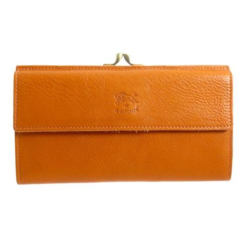 イルビゾンテ IL BISONTE ユニセックス 長財布 C0911P166 オレンジ