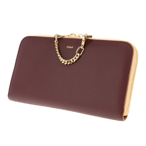 クロエ CHLOE 長財布 レディース 3P0266-882/B8N チョコ/ブラウン