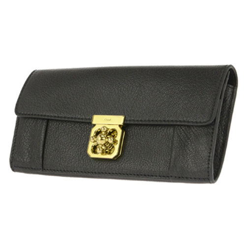 クロエ CHLOE 長財布 レディース 3P0592-835/001 ブラック