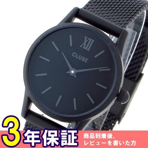 クルース ラ ヴェデット 24mm 腕時計 CL50004 ブラック/ブラック