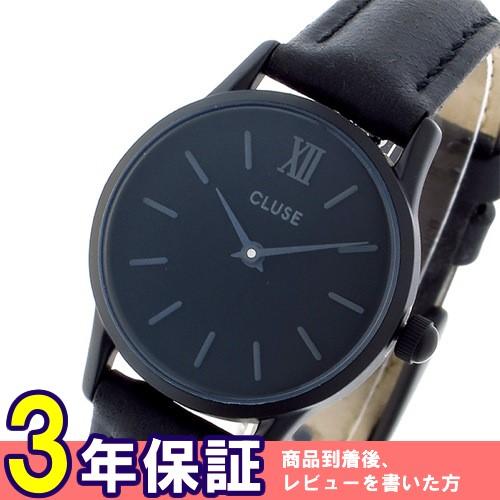 クルース ラ ヴェデット クオーツ 24mm 腕時計 CL50015 ブラック/ブラック