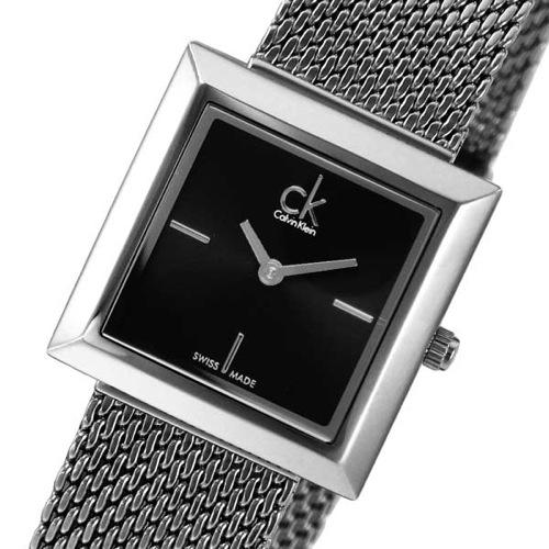 カルバンクライン マーク クオーツ レディース 腕時計 CLK3R23121 ブラック