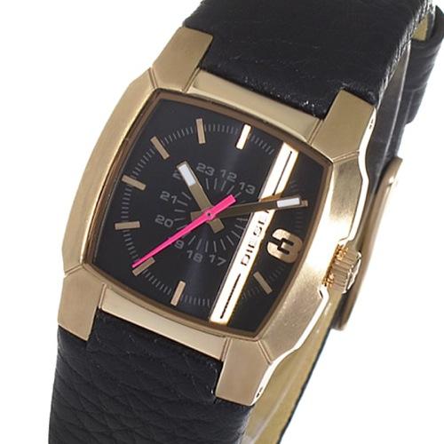 ディーゼル DIESEL クリフハンガー クオーツ レディース 腕時計 DZ5441 ブラック