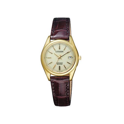シチズン エクシード エコ ドライブ 電波時計 レディース 腕時計 EAD75-2942 国内正規