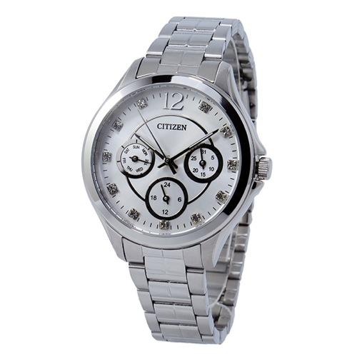 シチズン CITIZEN クオーツ レディース 腕時計 ED8140-57A シルバー
