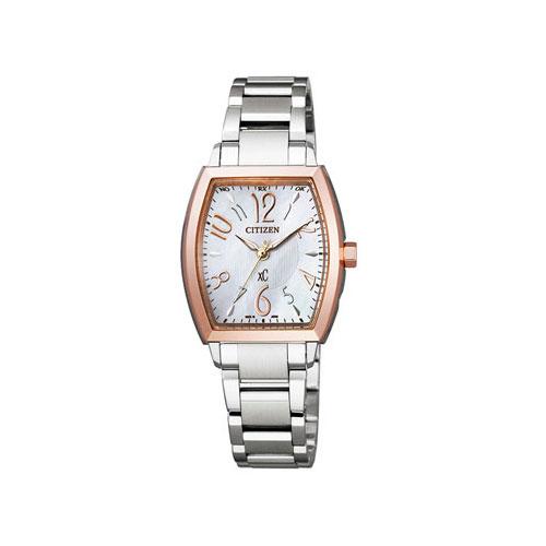 シチズン CITIZEN クロスシー エコ ドライブ 電波時計 レディース 腕時計 ER8034-52W 国内正規
