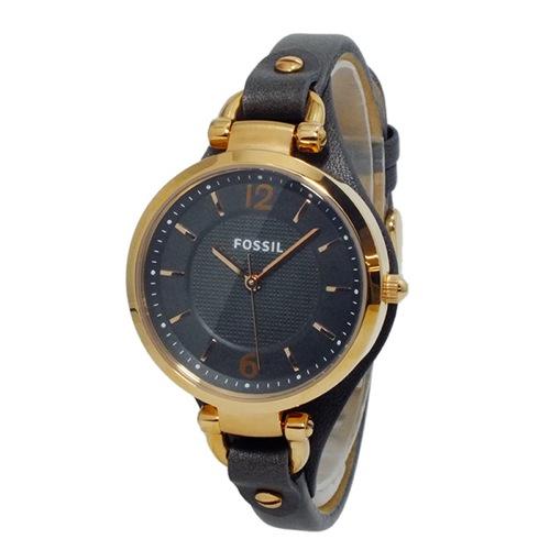 フォッシル FOSSIL ジョージア クオーツ レディース 腕時計 ES3077 ダークグレー