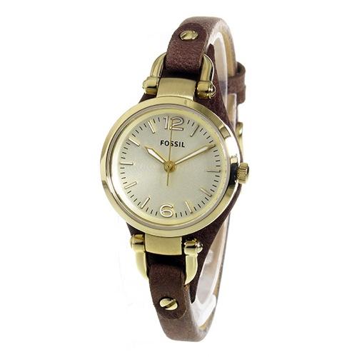 フォッシル FOSSIL ジョージア クオーツ レディース 腕時計 ES3264 シャンパン