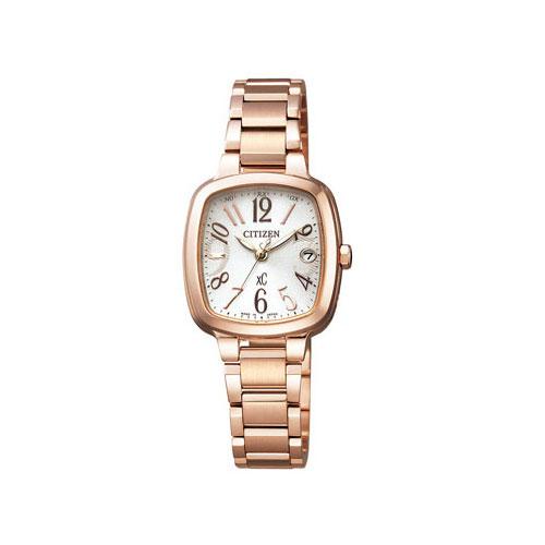 シチズン CITIZEN クロスシー エコ ドライブ 電波時計 レディース 腕時計 ES8012-50A 国内正規