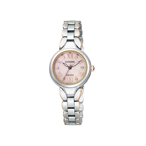 シチズン CITIZEN エクシード エコ ドライブ 電波時計 レディース 腕時計 ES8044-70W 国内正規