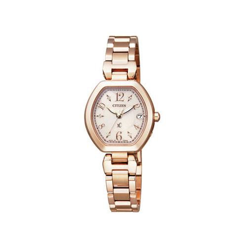 シチズン CITIZEN クロスシー エコ ドライブ 電波時計 レディース 腕時計 ES8052-55A 国内正規