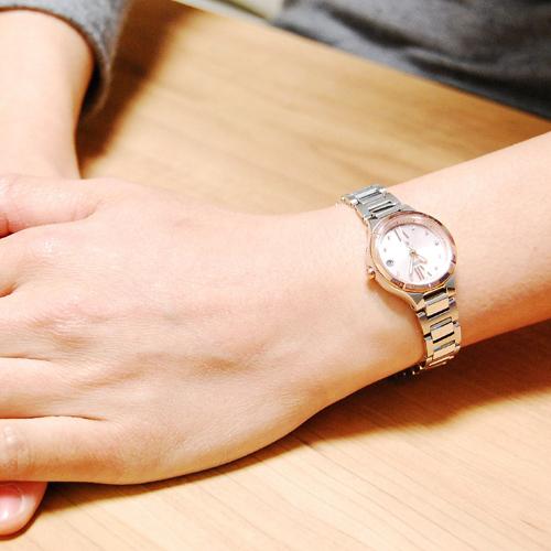 シチズン CITIZEN クロスシー エコ ドライブ レディース 腕時計 ES8084-59W 国内正規