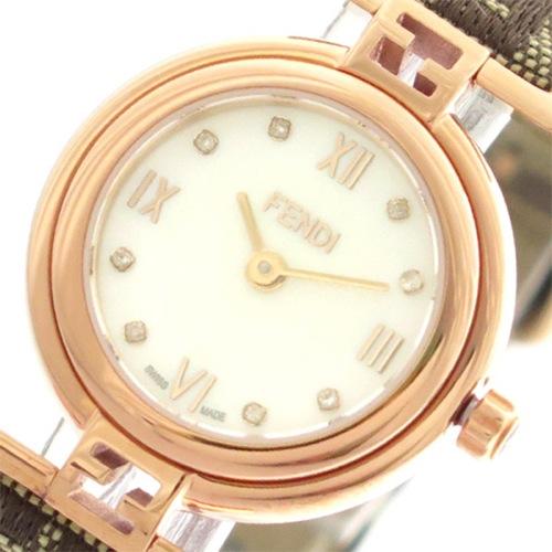 フェンディ FENDI 腕時計 レディース F275242DF モーダ MODA クォーツ ホワイトパール></a><p class=blog_products_name