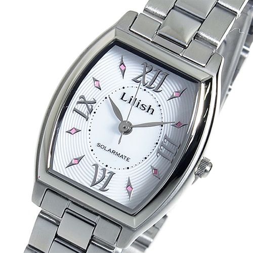 シチズン リリッシュ ソーラー クオーツ レディース 腕時計 H041-900 ホワイト