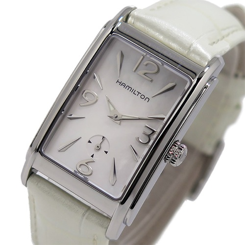 ハミルトン アードモア クオーツ レディース 腕時計 H11411955 ホワイト
