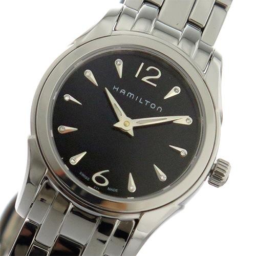 ハミルトン HAMILTON ジャズマスター レディース 腕時計 H32261137 ブラック></a> <p class=blog_products_name