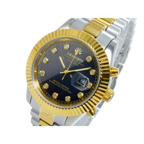 ジョンハリソン JOHN HARRISON ソーラー 電波 レディース 腕時計 JH-026LGB