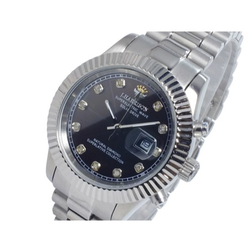 ジョンハリソン JOHN HARRISON ソーラー 電波 レディース 腕時計 JH-026LSB