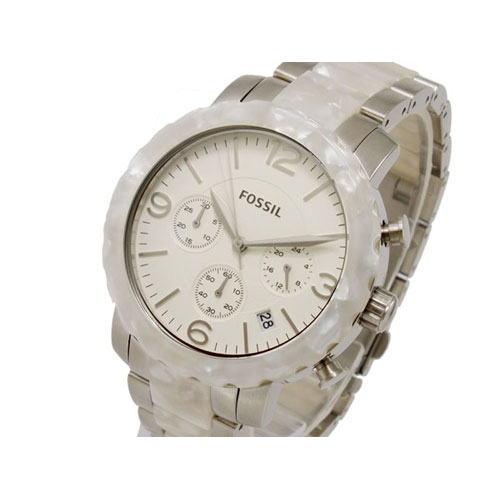 フォッシル FOSSIL ナタリー NATALIE クオーツ レディース クロノグラフ 腕時計 JR1420