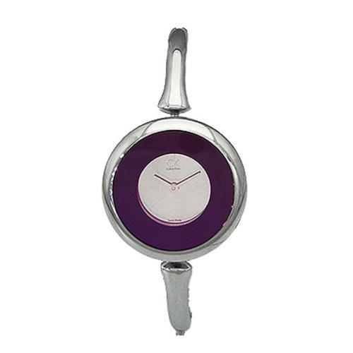 カルバン クライン シング クオーツ レディース 腕時計 K1C24656 パープル