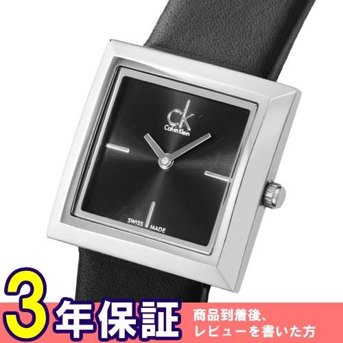 カルバン クライン マーク mark クオーツ レディース 腕時計 K3R231C1 ブラック