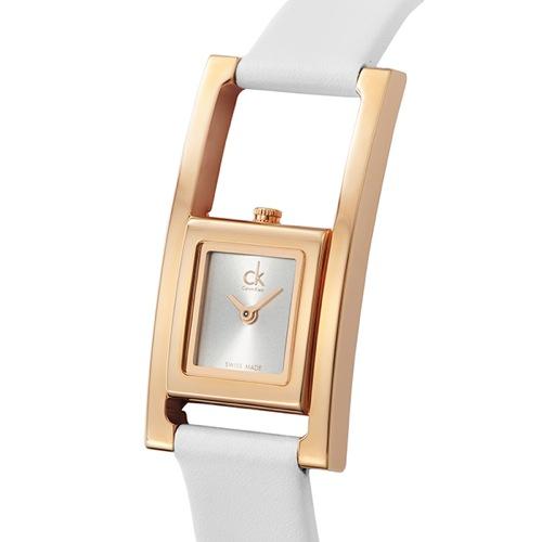 カルバンクライン Calvin Klein クオーツ レディース 腕時計 K4H436.L6 シルバー