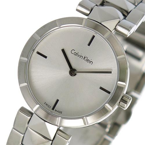 カルバンクライン クオーツ ユニセックス 腕時計 K5T33146 シルバー